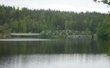 Öppningsbar järnvägsbro vid Dalslands kanal i nedre änden av Bengtsbrohöljen 2012-06-24
