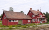 Åsarna station 2017-08-15