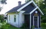 Åsen banvaktstuga i Hjo 2010-07-05